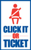 National Click It or Ticket Logo