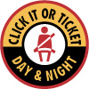 National Click It or Ticket Day and Night Logo